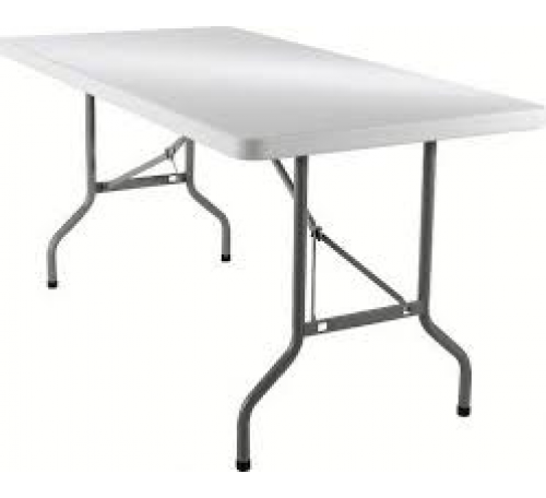 TABLE RECTANGLE 180 X 0.76 6/8 PERS