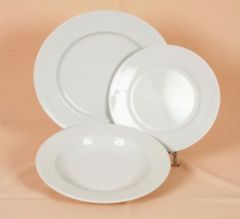 Assiette de table diam 26