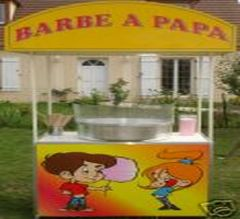 STAND BARBE A PAPA